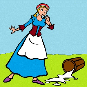 Milkmaid And Her Dream : Interesting Moral Story for Kids