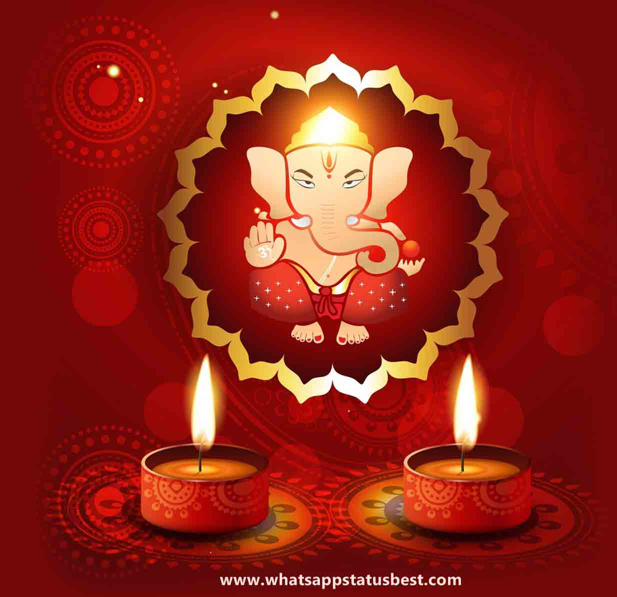 Ganpati Blessing Quotes: Ganesh Chaturthi Status In Marathi Language : Best Marathi