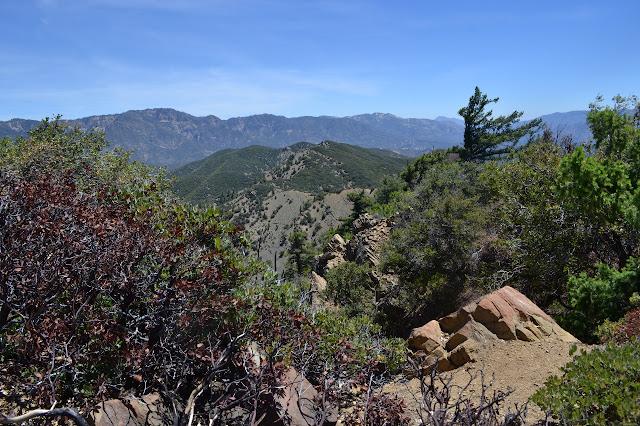 more rocky edge of ridge