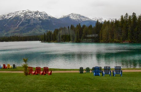Fairmont Jasper Park Lodge.