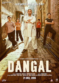 "Poster do filme ""Dangal"""
