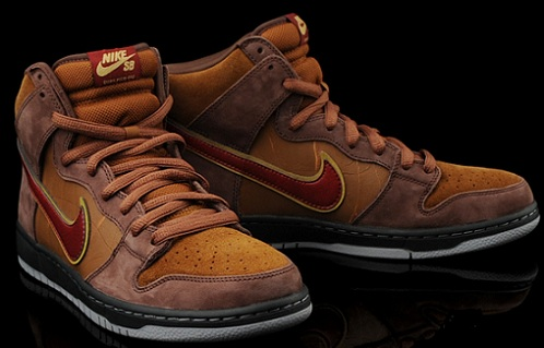 "cheap for discount 31d05 da01d Todd Bratrud x SPoT x Nike SB Dunk High ""The Cigar"" – Limited Availability"