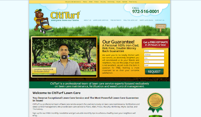 trusted lawn care company in Texas
