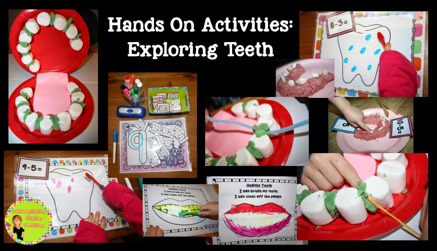Dental Health Hands-on Activities