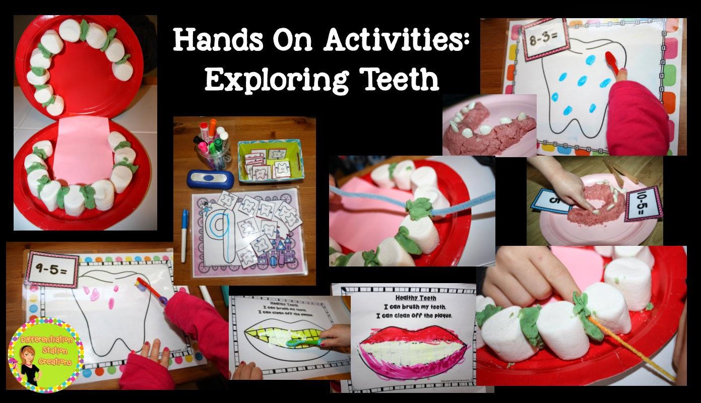 Dental Health Hands-on Activities