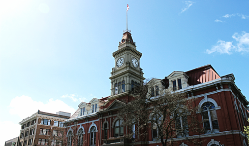 victoria city hall old town british columbia