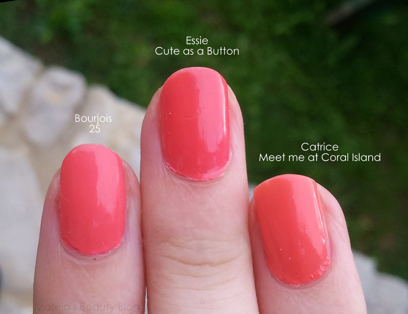 Coral Nail Polishes - Mateja\'s Beauty Blog