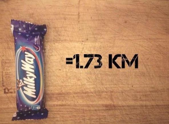 Anda Perlu Berlari Sejauh Ini Selepas Memakan Produk Coklat Untuk Buang Kalori