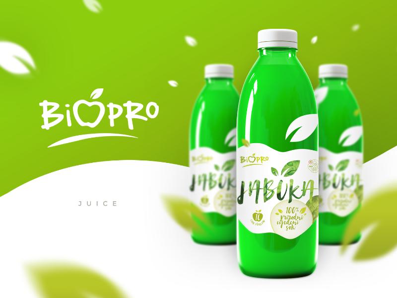 BIOPRO Natural Apple Juice