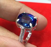 Jual Cincin Perak Batu Aleksandri