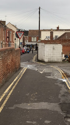 Quirky road in Burnham-On-Sea