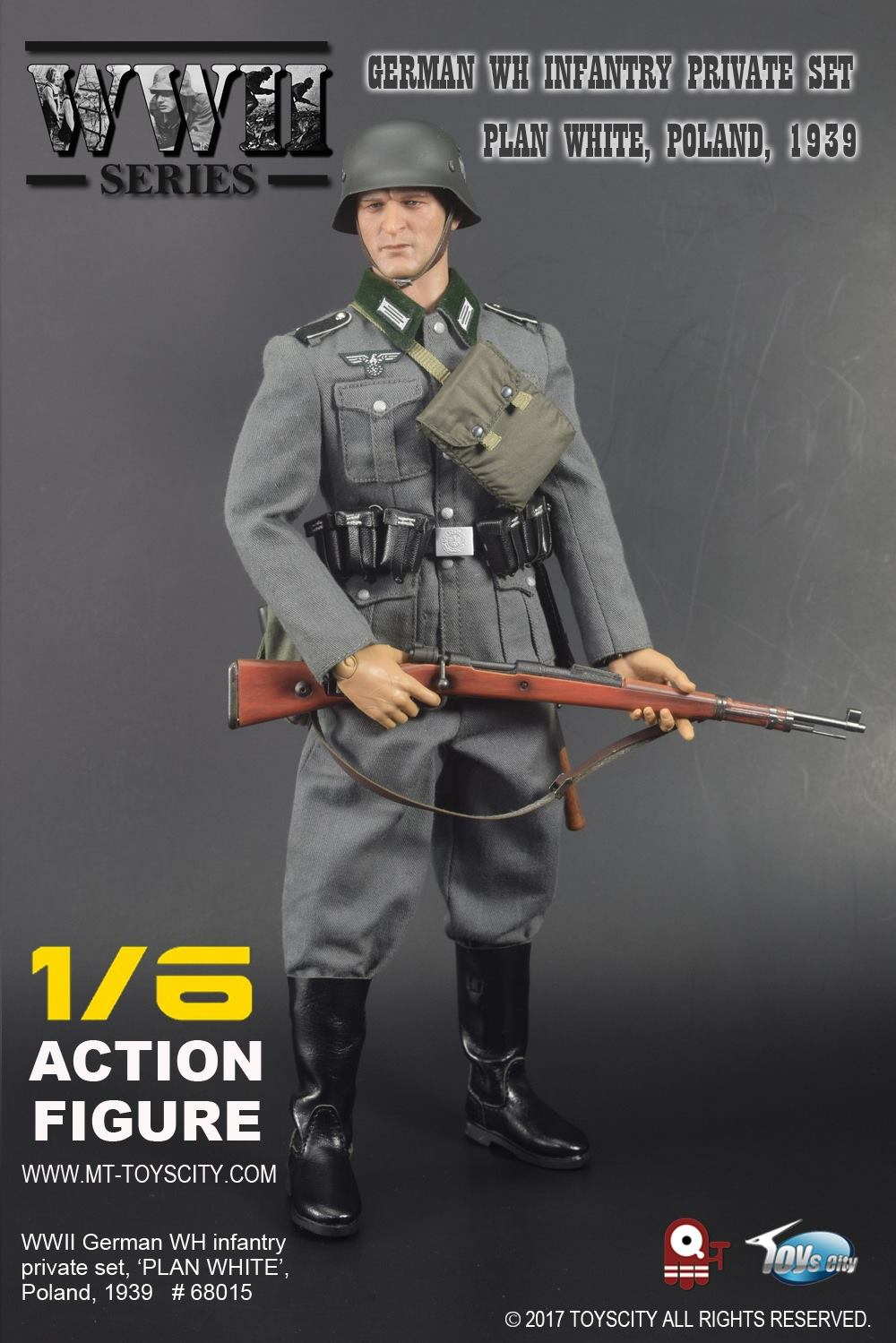1//6 Scale Alert Line Action Figures Officer Hat w// Patch WWII RAF Pilot