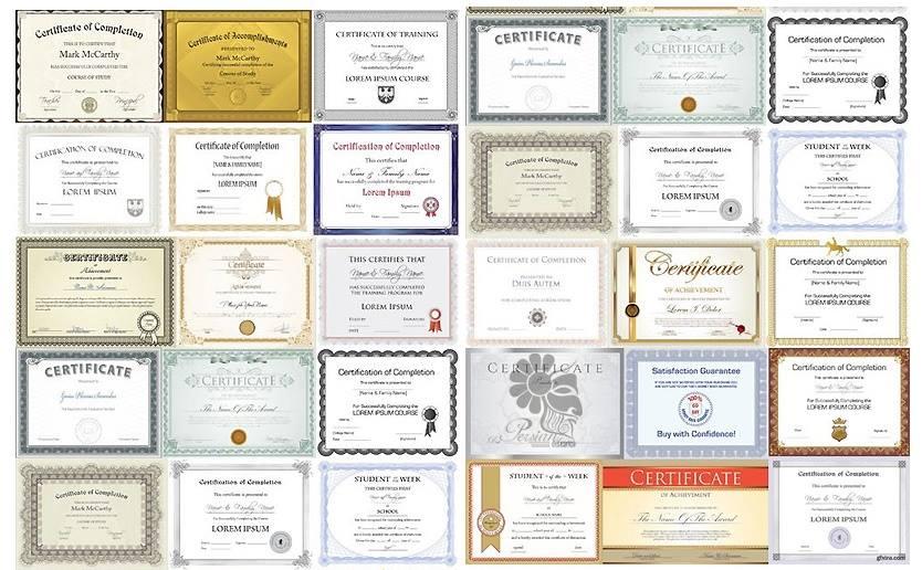 تصميمات ل 25 شهادة تقدير فيكتور حقيبة المصمم المحترف