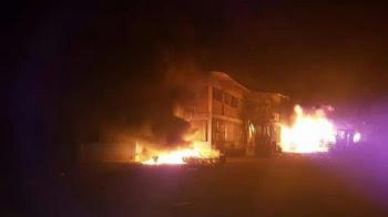 Consejo de seguridad en Unguía tras incineración del palacio municipal