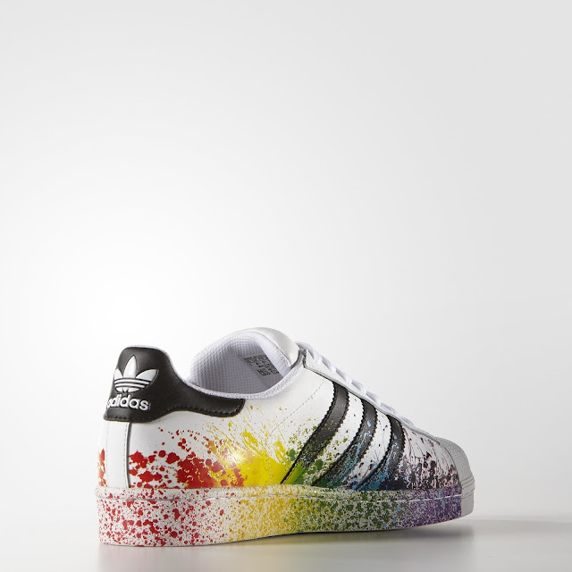 adidas superstar lgbt pride kollektion sneakermag the sneaker blog. Black Bedroom Furniture Sets. Home Design Ideas