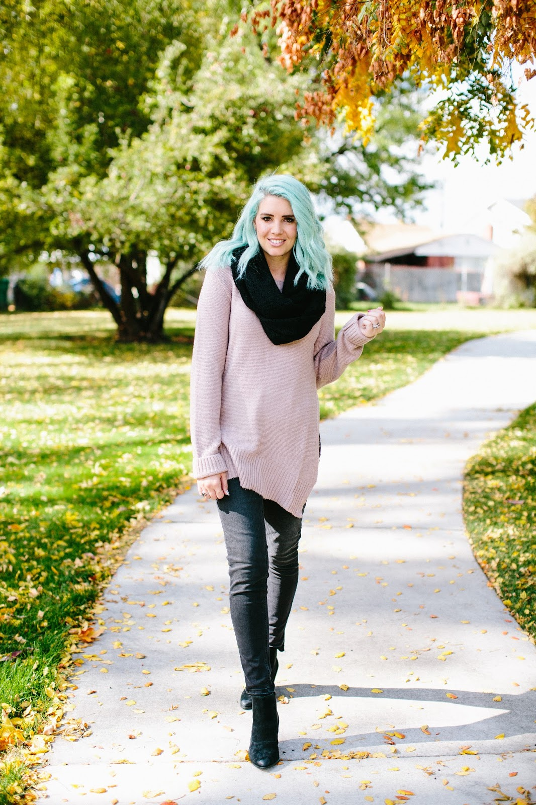 Long Tall Sally Sweater, Tall Girl Style, Utah Fashion Blogger