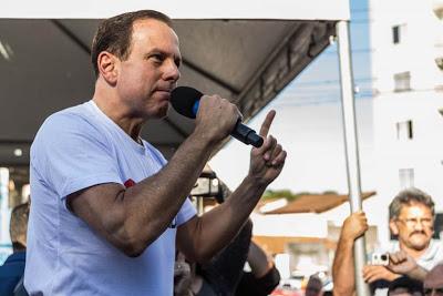 'Lula está mais perto da prisão que das eleições', diz Doria