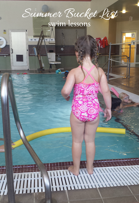 Summer Bucket List | swim lessons