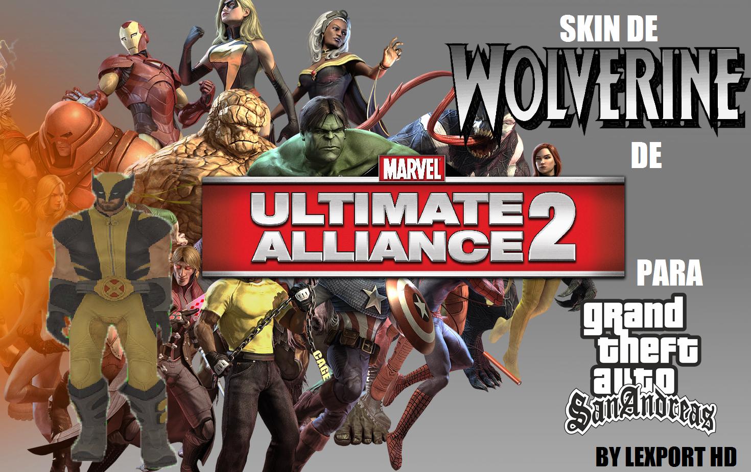 Mods Y Animaciones Del GTA San Andreas: Skin De Wolverine De Marvel