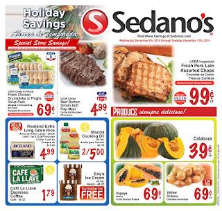 ⭐ Sedanos Ad 12/11/19 ⭐ Sedanos Weekly Flyer December 11 2019