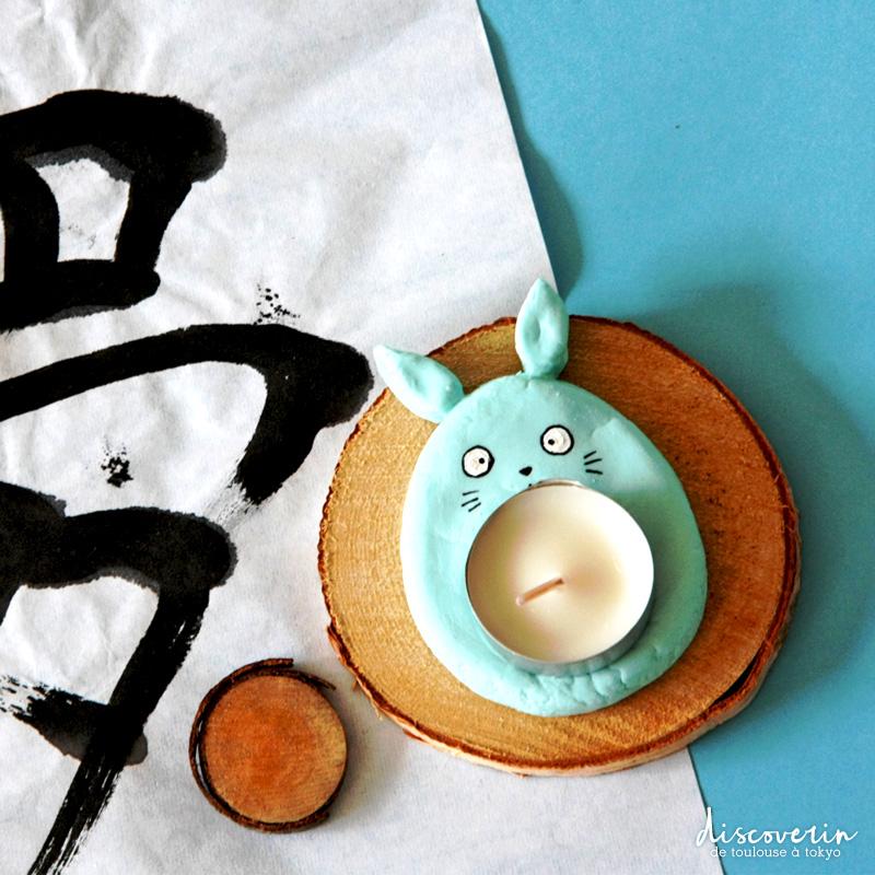 Bougeoir Totoro DIY