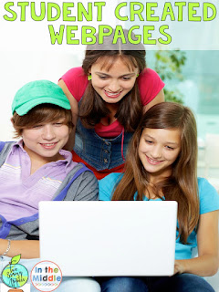 How to create student webpages by Brainy Apples