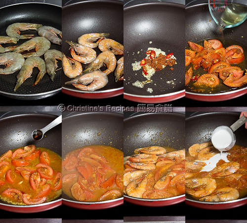 Prawn and Tomato Curry Procedures