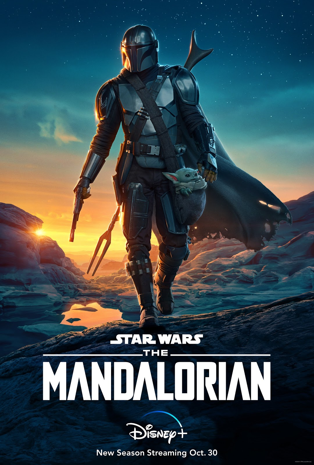 Star Wars The Mandalorian season 2 poster
