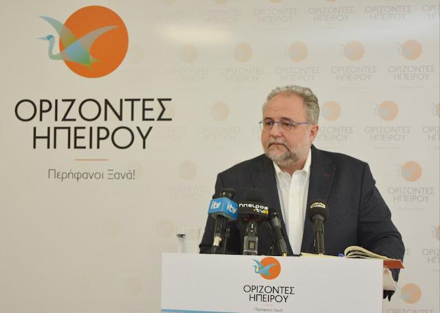 Ριζόπουλος: Ζητώ καθαρή αναμέτρηση.