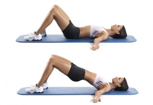 5 bài tập mông săn đùi thon mà không cần squat