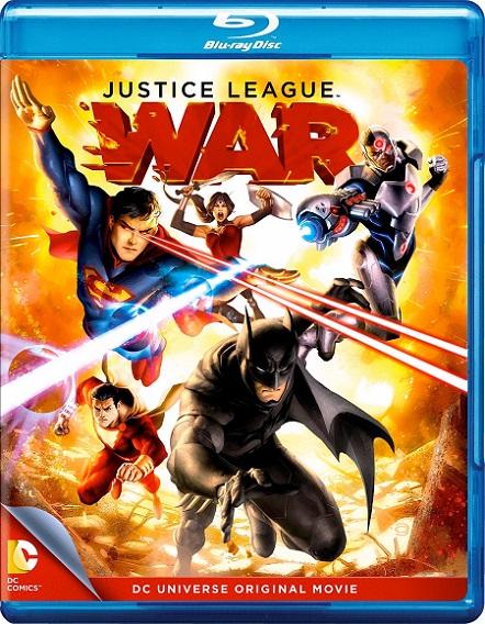 Justice League: War (La Liga de la Justicia: Guerra) (2014) 1080p BluRay REMUX 11GB mkv Dual Audio DTS-HD 5.1 ch