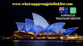 Australia WhatsApp Group Join Link List