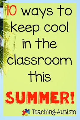 10 ways to keep cool in the classroom