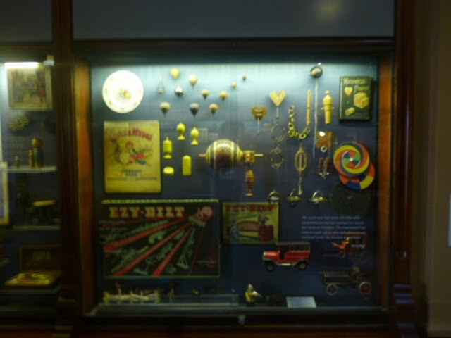 State Library Toy Displays