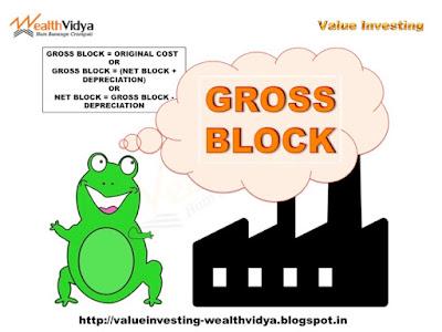 Happy Frog Explaining Gross Block Fixed Assets