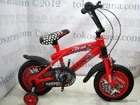 1 Sepeda Anak Merino 12-2209-9 Suspension 12 Inci
