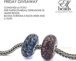 Logo Partecipa e vinci gratis due eleganti Beads