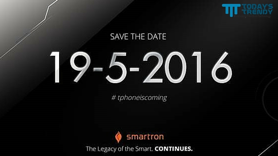 Smartron t.phone to launch on May 19th