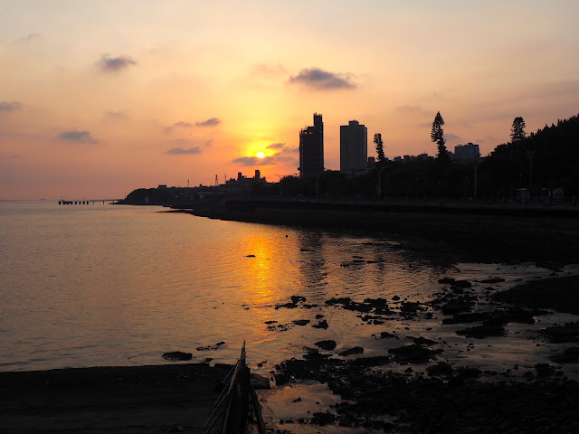 Sunset in Tamsui, Taipei, Taiwan