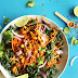 Thai Carrot Salad Recipe with Curried Cashews