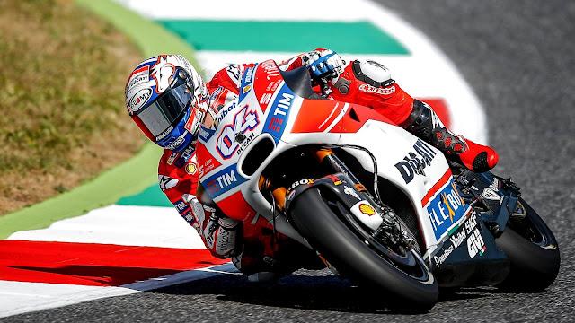Andrea Dovizioso Ducati menang MotoGP Catalunya 2017