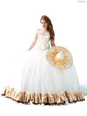 vestidos de xv charros