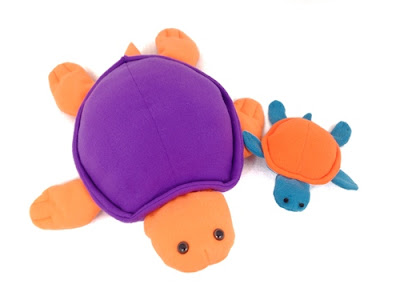 sea turtle sewing pattern