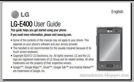 lg optimus l3 manual user guide pdf manual centre rh manualcentro com LG Cases LG Optimus