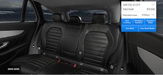 Nội thất Mercedes AMG GLC 43 4MATIC 2019 màu Đen Leather 221