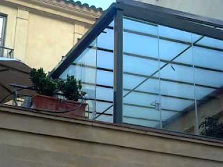 Cerrar una terraza