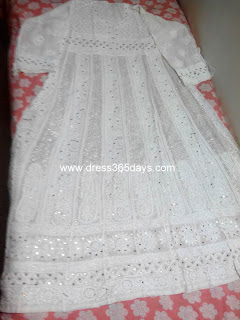 Heavy Anarkali with yoke Kamdani work