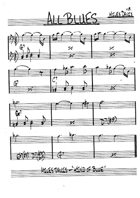 Partitura Violonchelo Miles Davis