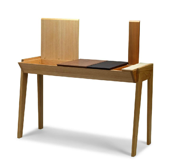 Small Apartments And Hotel Rooms The Arbor Desk Is Suited For Laptops