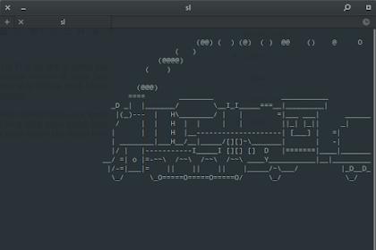 [FUN] Membuat Kereta Berjalan di Terminal Linux